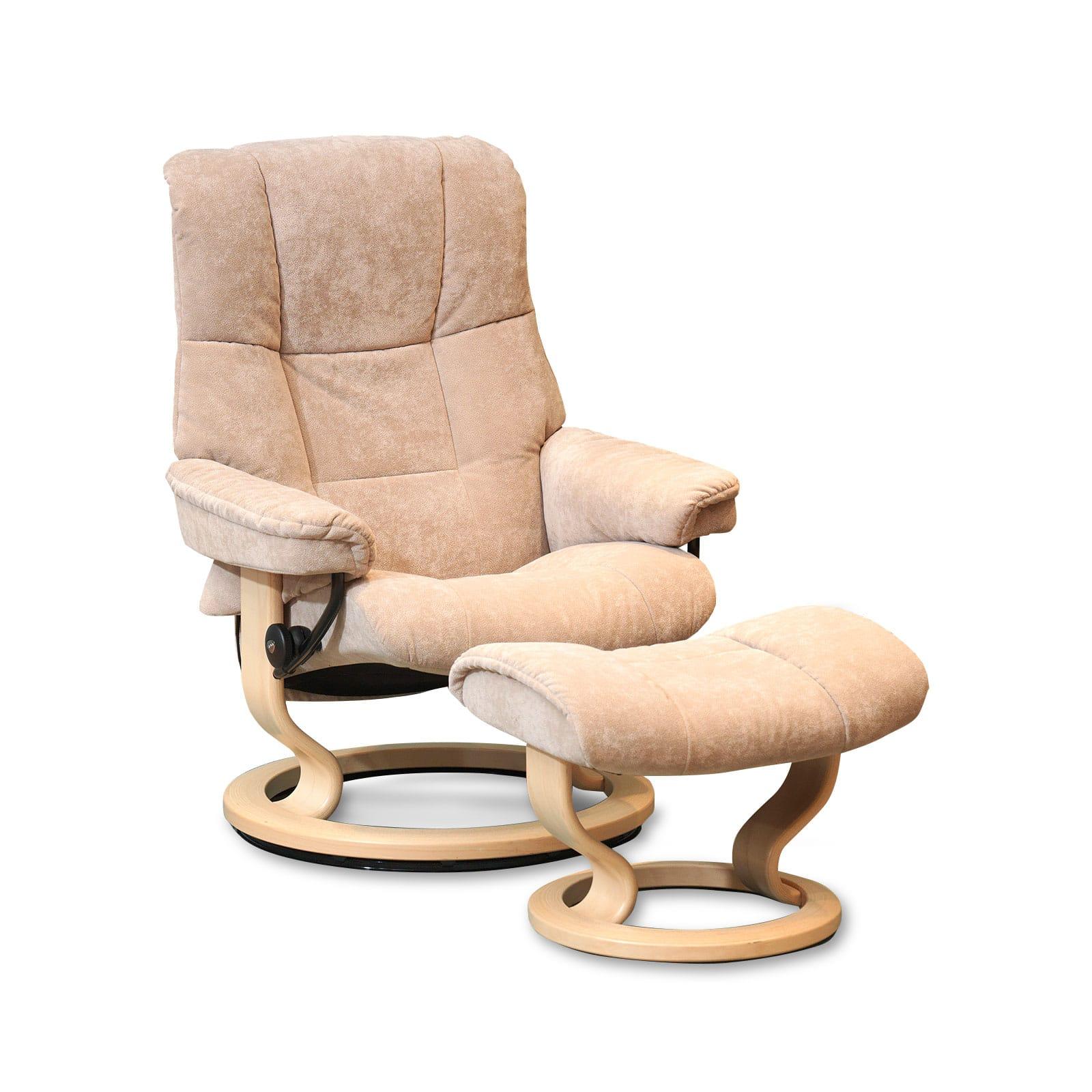 stressless sessel mayfair karma dark beige classic natur. Black Bedroom Furniture Sets. Home Design Ideas