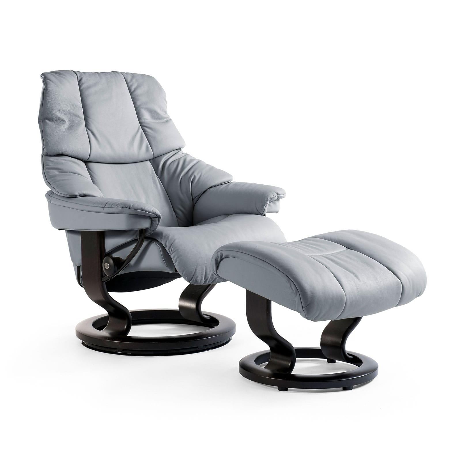 stressless sessel reno batick grey mit hocker stressless