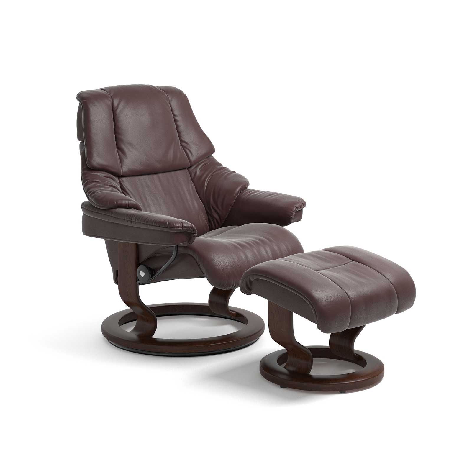 Stressless Sessel Reno Cori Amarone Mit Hocker Stressless