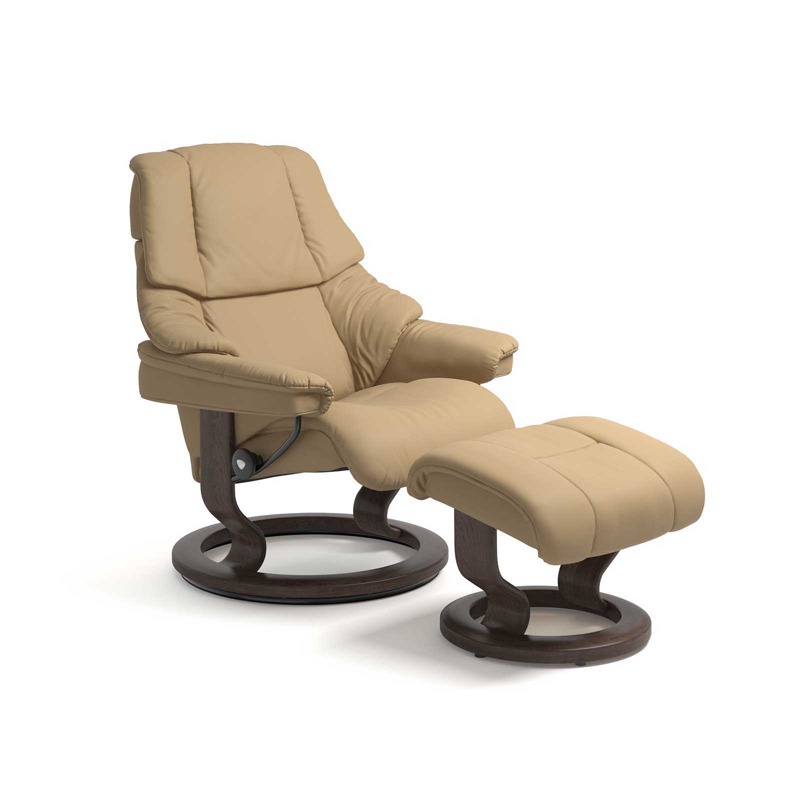 Stressless Sessel Reno Paloma Sand Mit Hocker Stressless