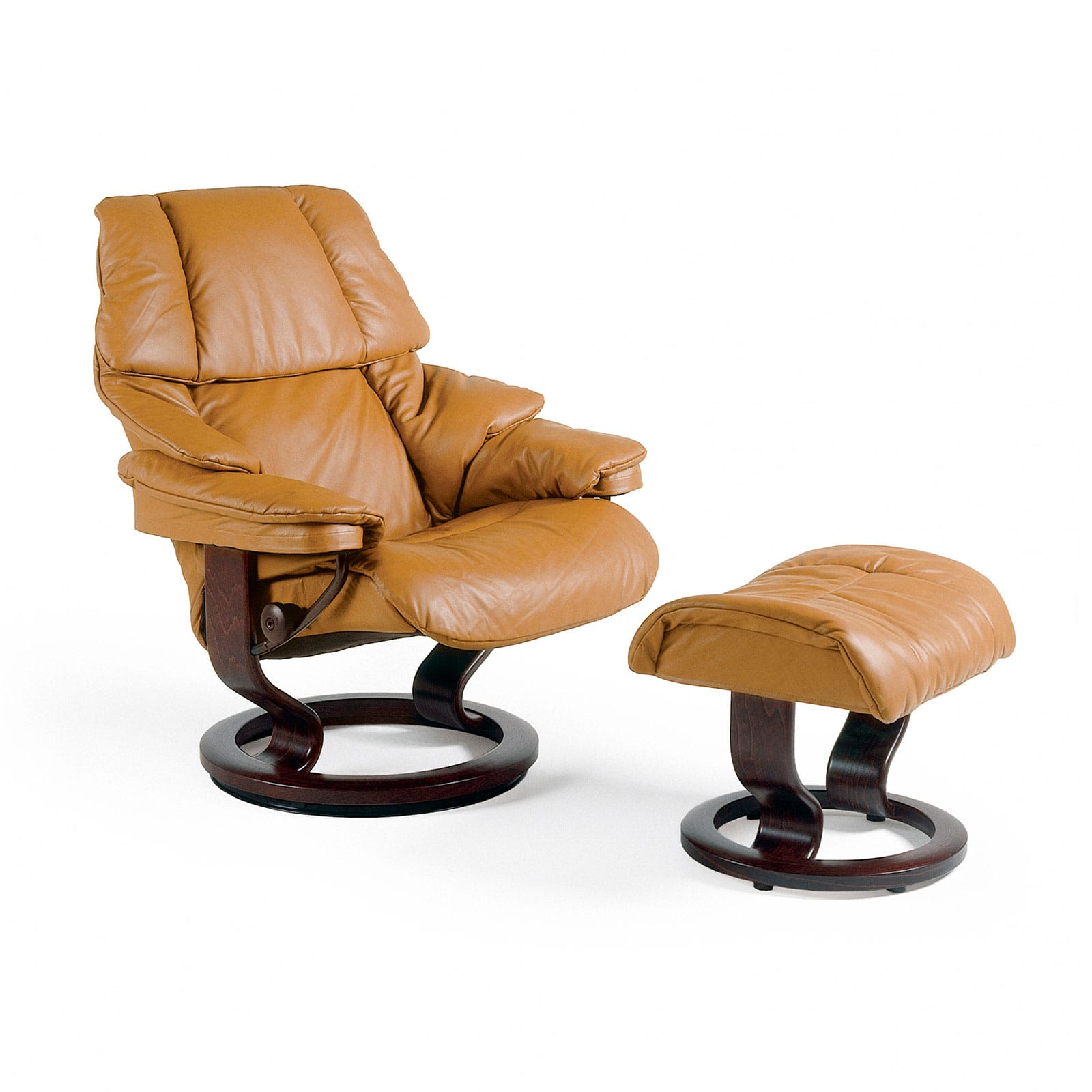 Stressless Sessel Reno Leder Cori Tan Mit Hocker Stressless