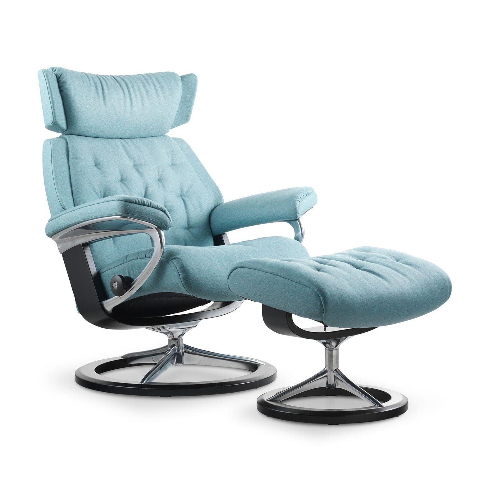 Stressless Skyline Calido Aqua Signature Wenge Mit Hocker