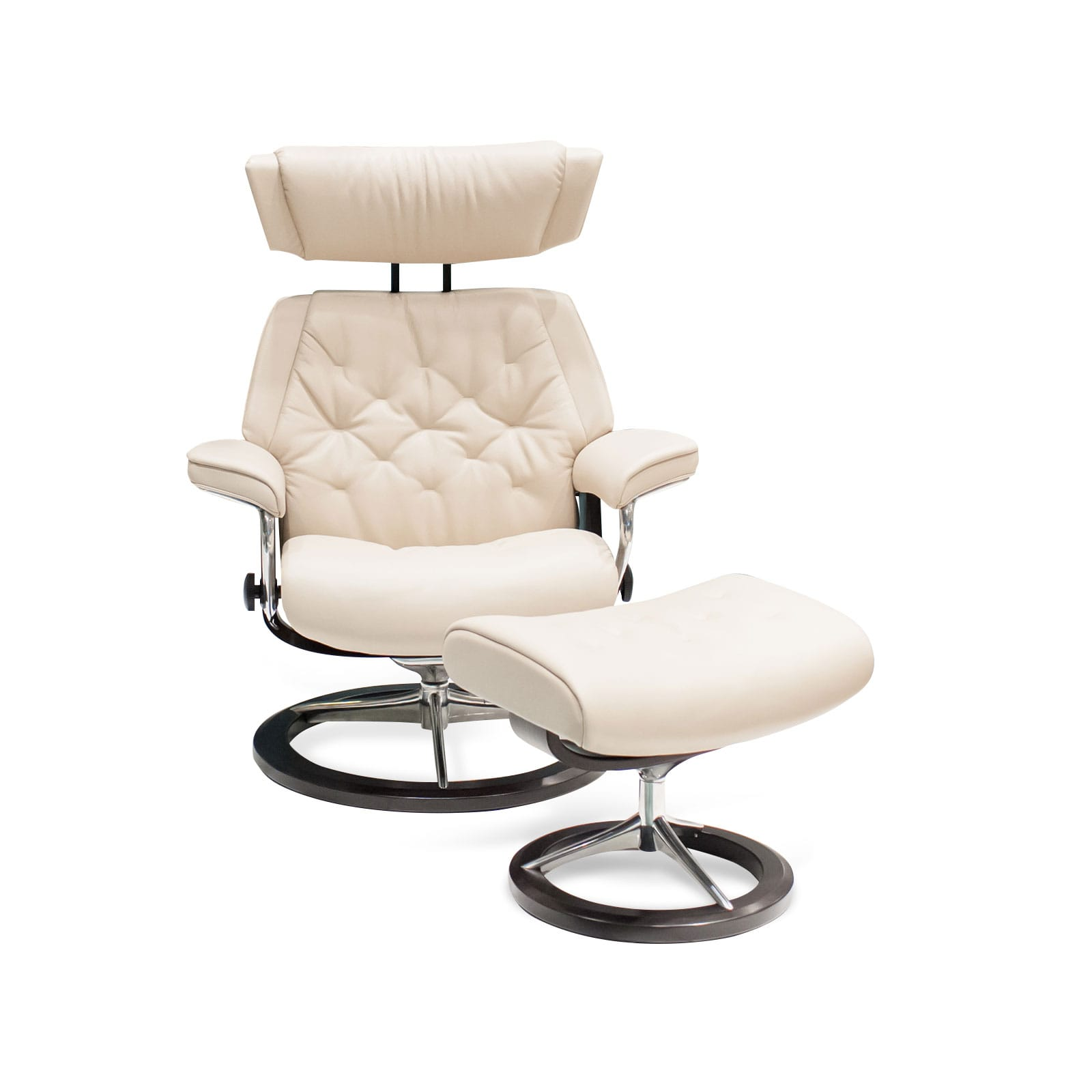 Stressless Sessel Skyline Cori Fog Signature Mit Hocker