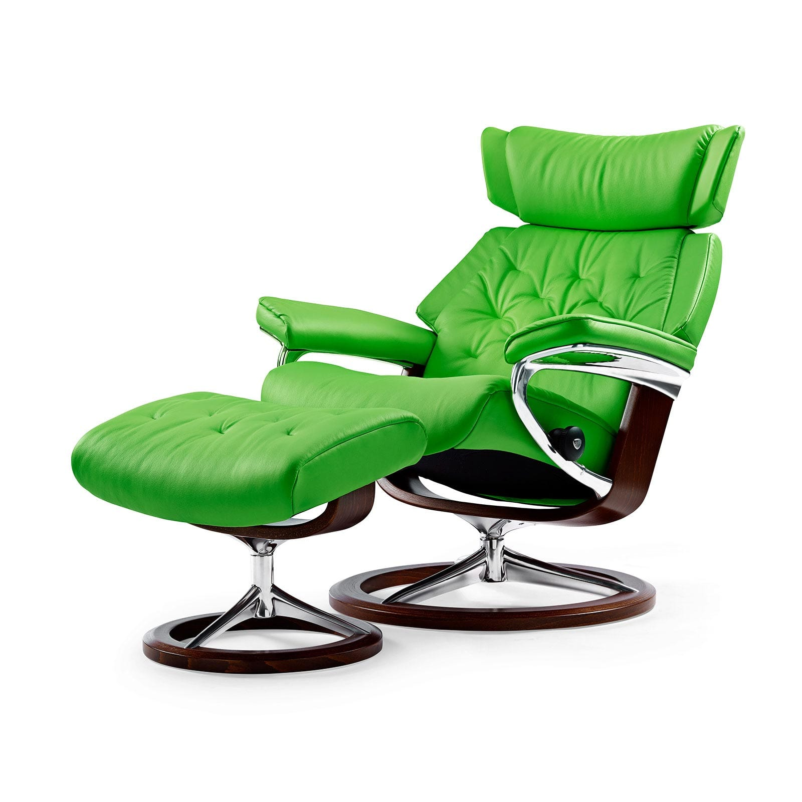 Stressless Sessel Skyline Paloma Summer Green Signature Hocker