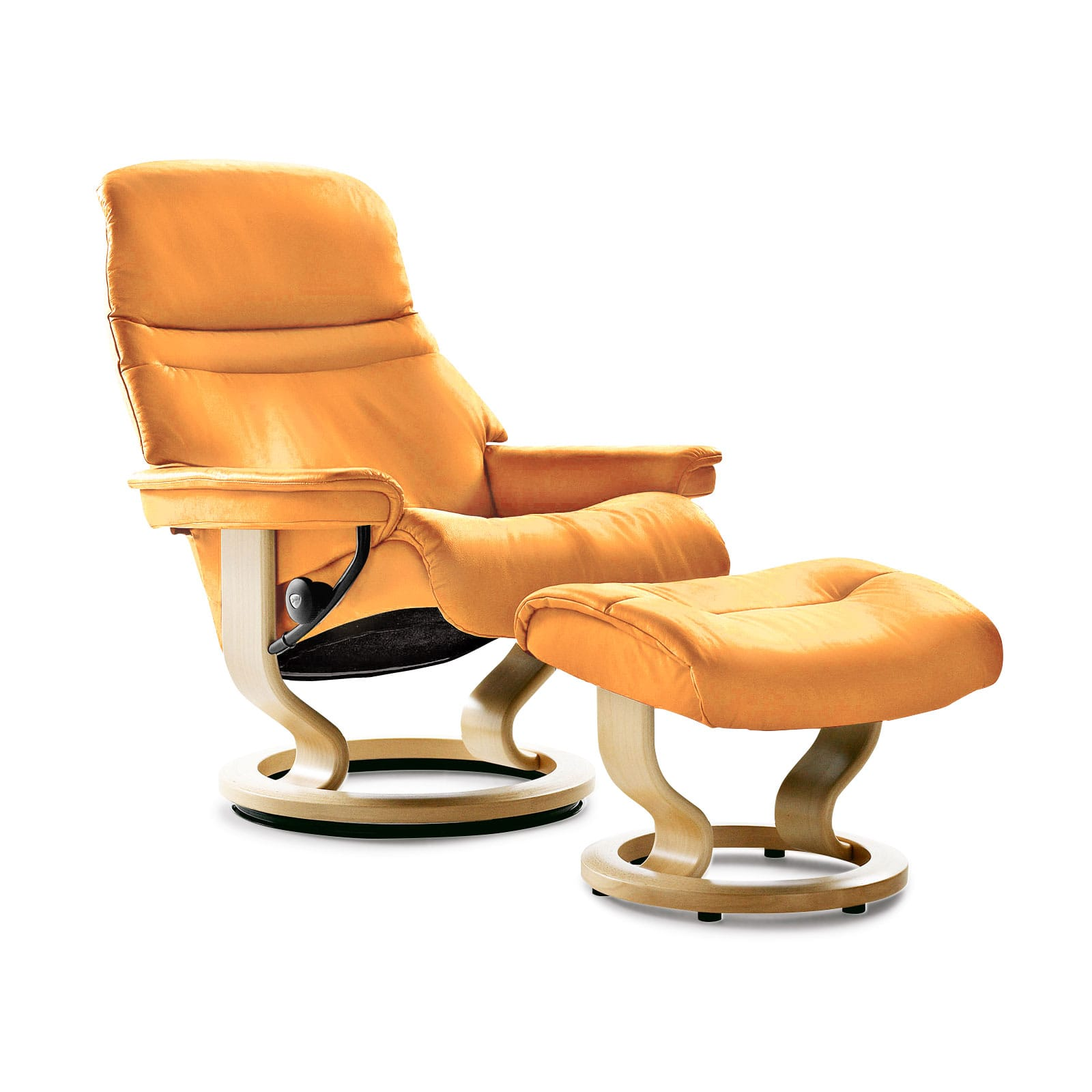 Stressless Sessel Sunrise M Paloma Clementine Mit Hocker