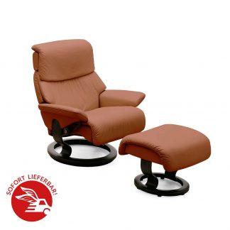 angebot stressless dream m mit hocker brown wenge. Black Bedroom Furniture Sets. Home Design Ideas
