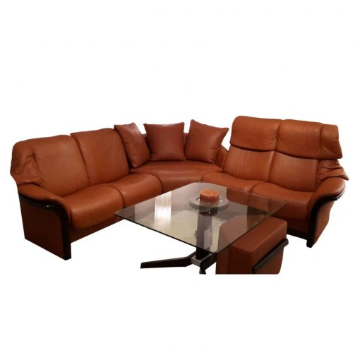 angebot die stressless sofakombination eldorado brandy wenge. Black Bedroom Furniture Sets. Home Design Ideas