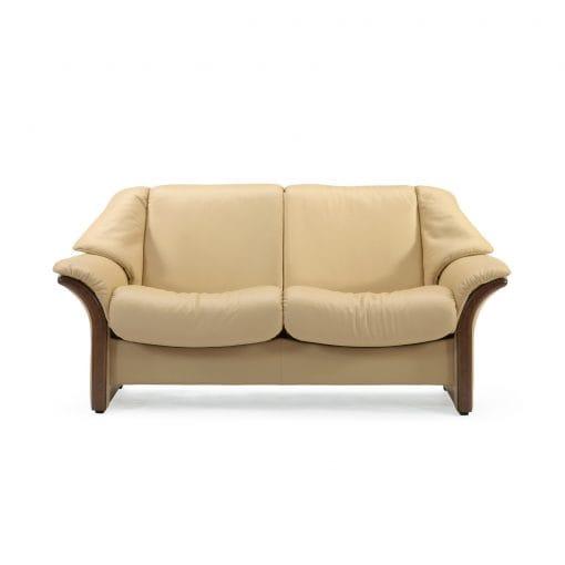 stressless sofa 2 sitzer eldorado m niedrig sand braun. Black Bedroom Furniture Sets. Home Design Ideas