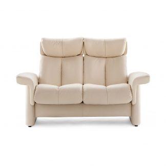 Sofa LEGEND hoch 2-Sitzer Leder Paloma vanilla Stressless