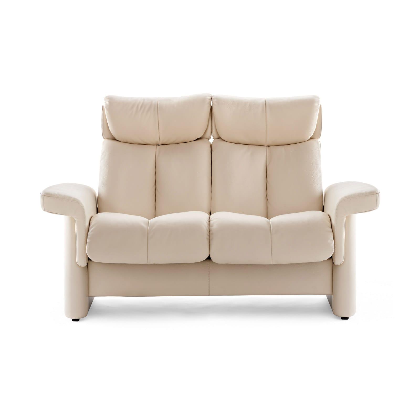 Stressless Sofa 2 Sitzer LEGEND M hoch Lederfarbe vanilla