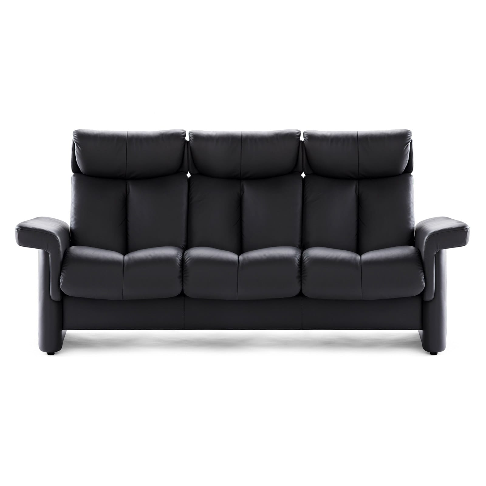 stressless sofa 3 sitzer legend m hoch lederfarbe rock. Black Bedroom Furniture Sets. Home Design Ideas