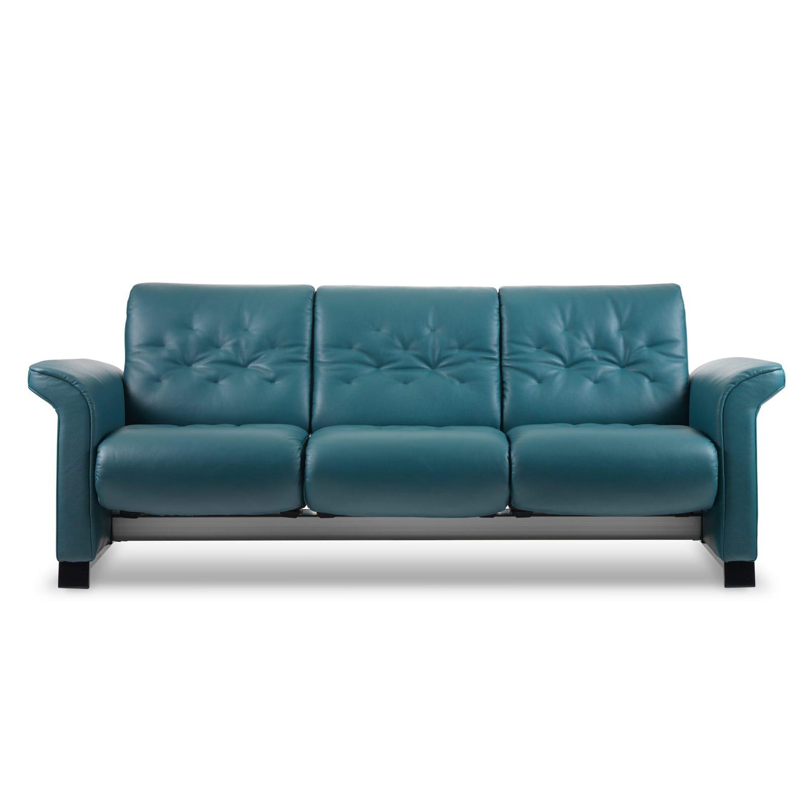stressless sofa 3 sitzer metropolitan m cori petrol. Black Bedroom Furniture Sets. Home Design Ideas