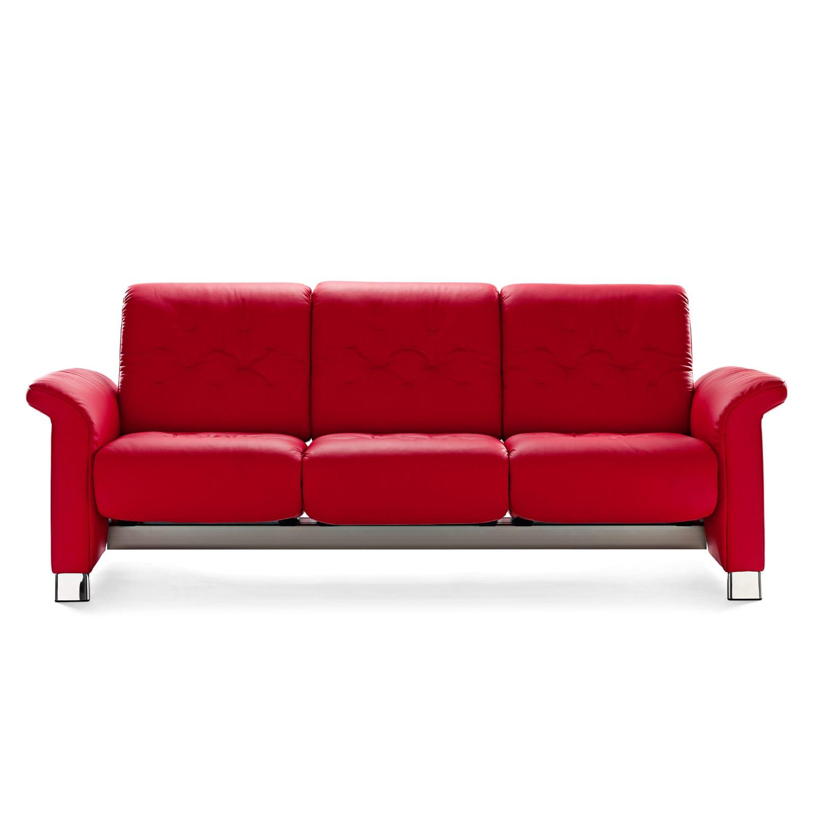 stressless sofa 3 sitzer metropolitan m paloma tomato. Black Bedroom Furniture Sets. Home Design Ideas