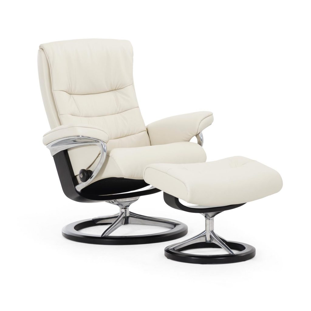 relaxsessel stressless nordic paloma lightgrey untergestell schwarz mit hocker house of comfort. Black Bedroom Furniture Sets. Home Design Ideas
