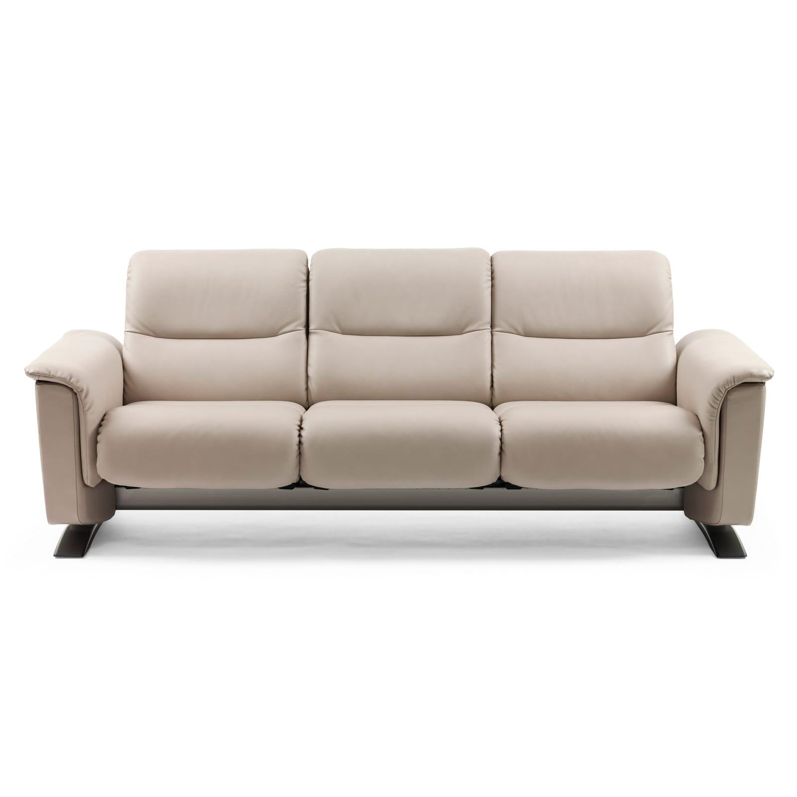Stressless sofa 3 sitzer panorama beige stressless for Sofa 4 sitzer