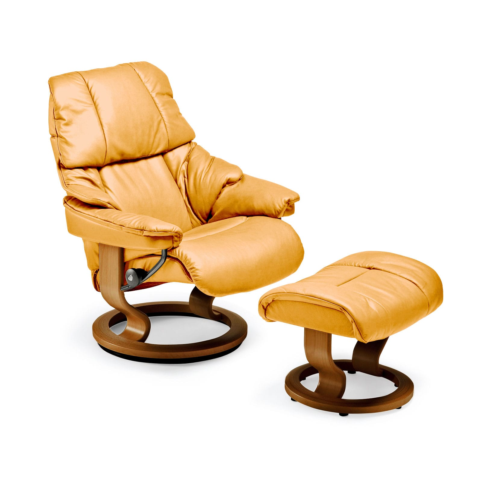 Stressless sessel reno l classic mit hocker stressless for Relaxsessel mit hocker microfaser