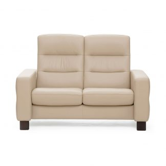 Sofa WAVE hoch 2-Sitzer Leder Batick cream Stressless