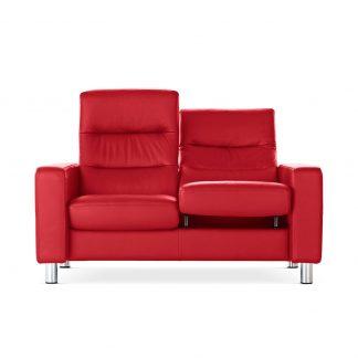 stressless sofa 2 sitzer wave hoch paloma tomato stressless. Black Bedroom Furniture Sets. Home Design Ideas