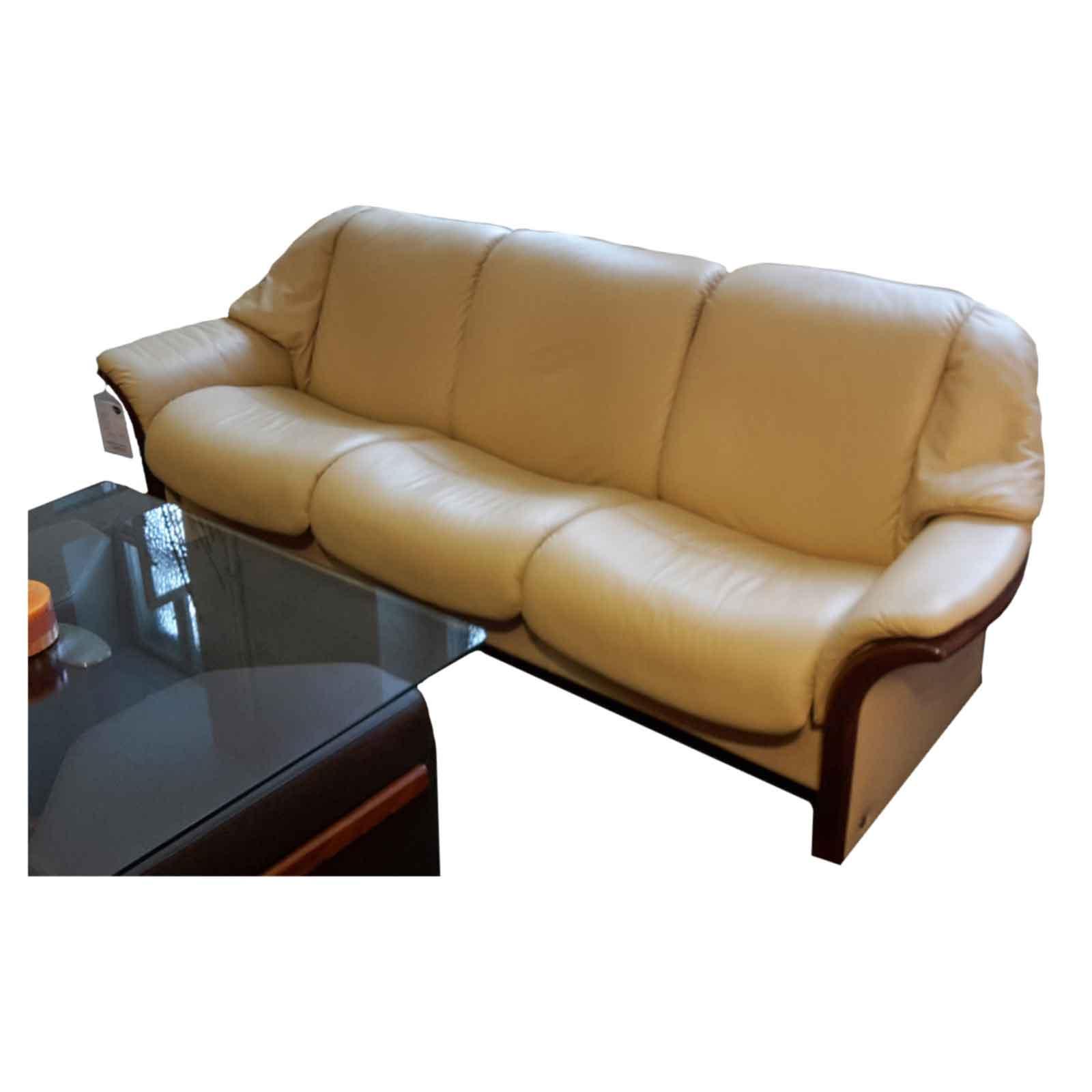 ausstellungsst ck stressless sofa granada camel braun. Black Bedroom Furniture Sets. Home Design Ideas