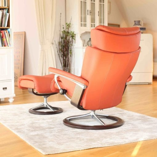 stressless relax sessel magic paloma henna signature hocker. Black Bedroom Furniture Sets. Home Design Ideas