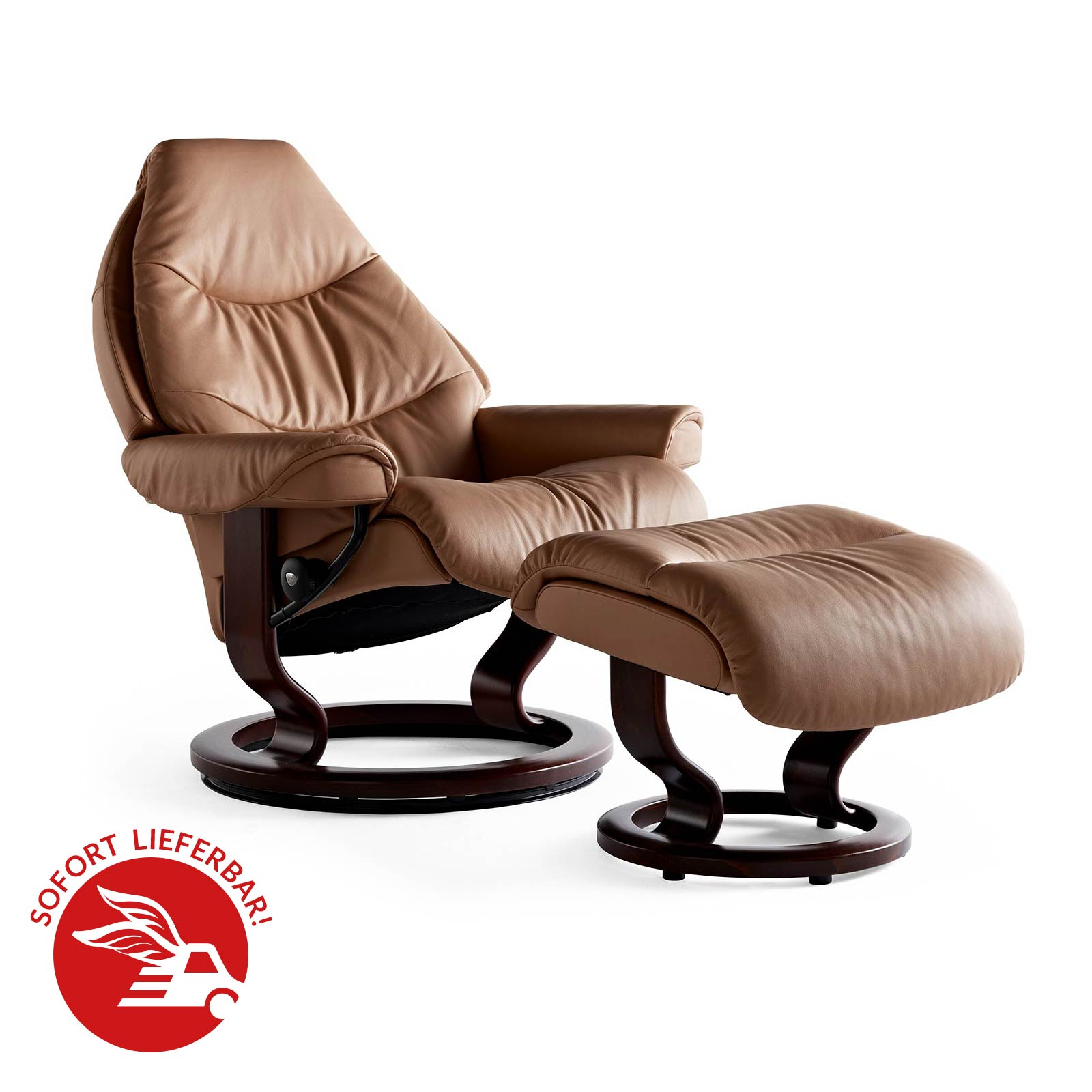 angebot stressless sessel voyager m mit hocker taube. Black Bedroom Furniture Sets. Home Design Ideas