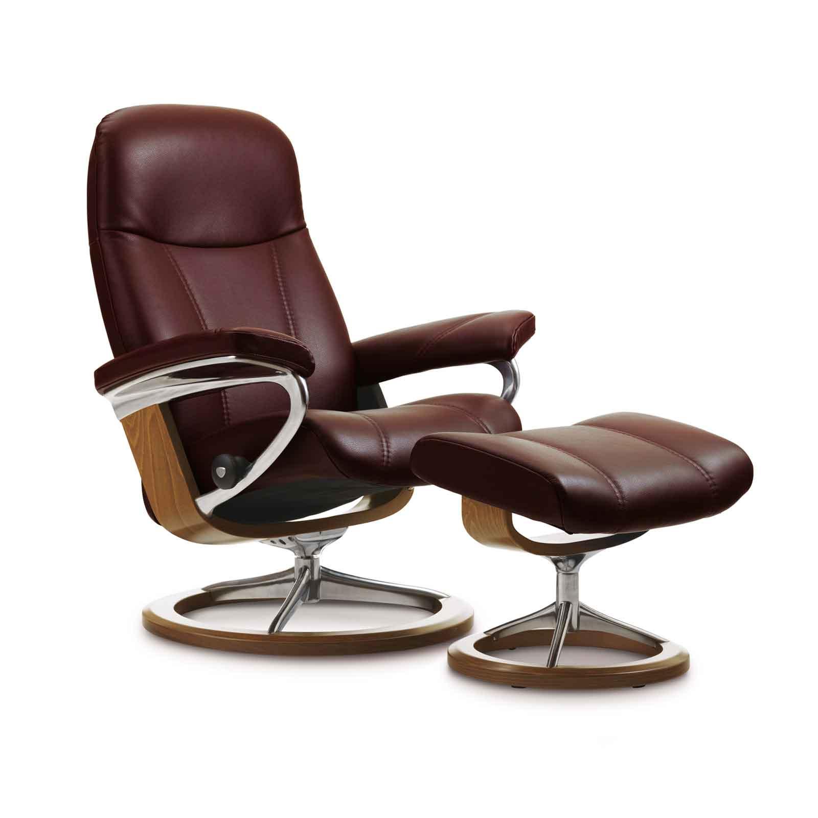 stressless sessel consul burgundy house of comfort. Black Bedroom Furniture Sets. Home Design Ideas