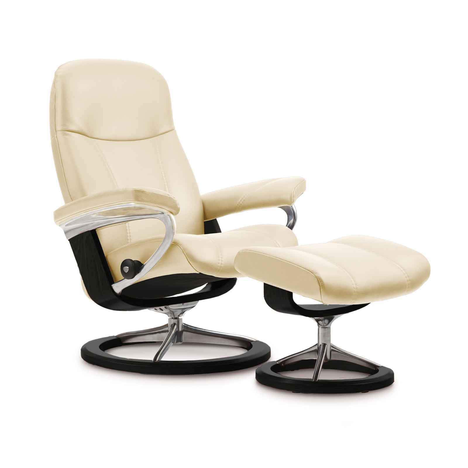 stressless sessel mit hocker consul williamflooring. Black Bedroom Furniture Sets. Home Design Ideas