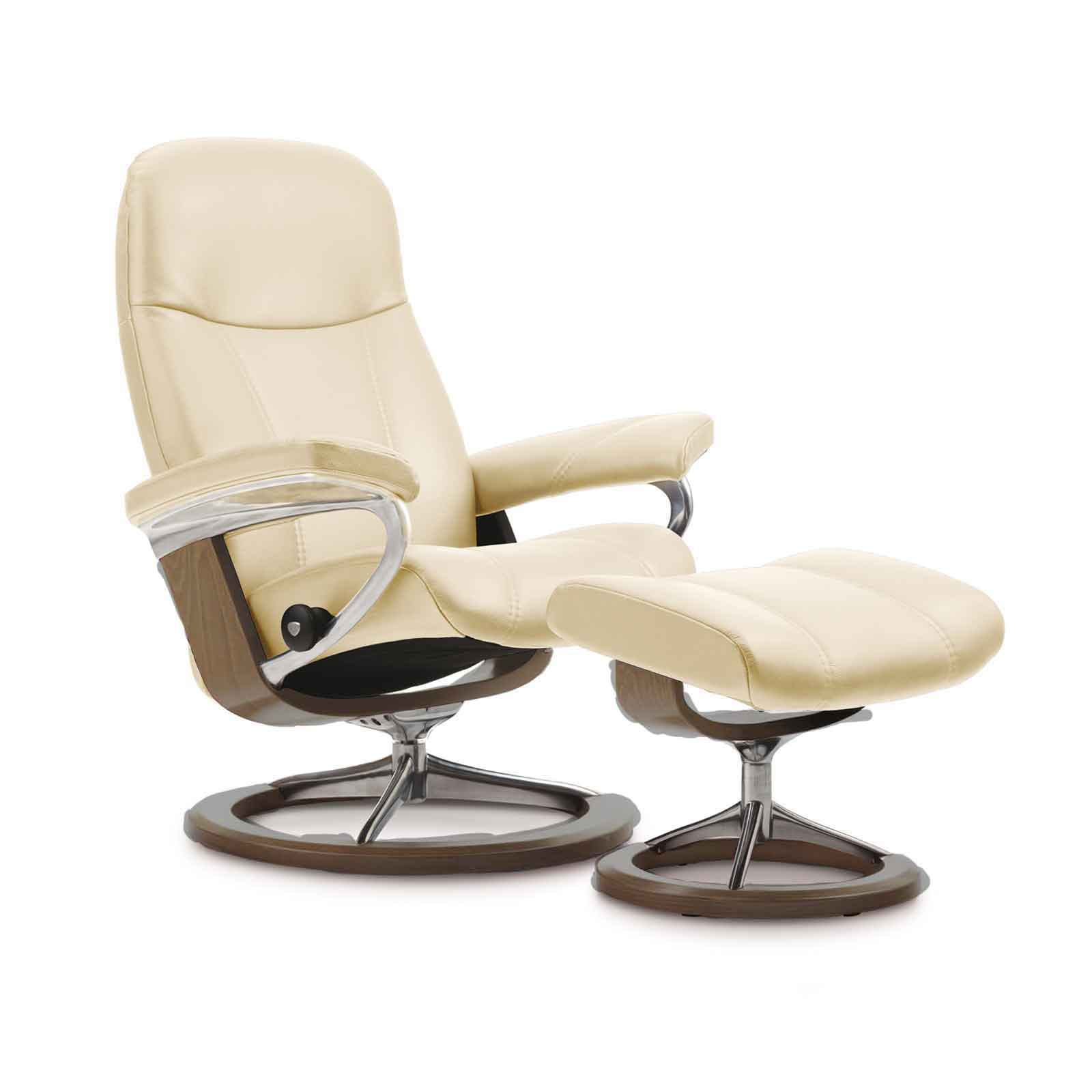 stressless sessel consul l batick cream angebot stressless. Black Bedroom Furniture Sets. Home Design Ideas