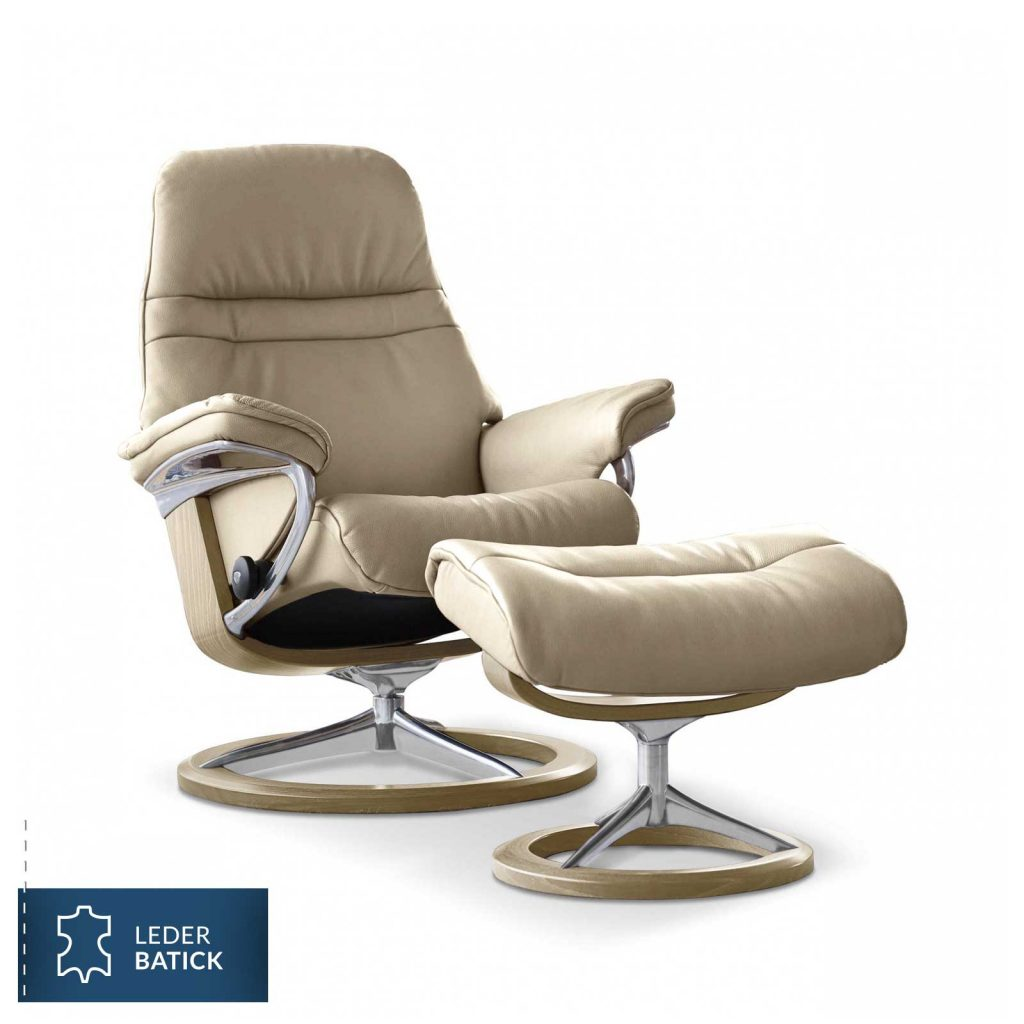 relaxsessel stressless sunrise batick cream untergestell. Black Bedroom Furniture Sets. Home Design Ideas