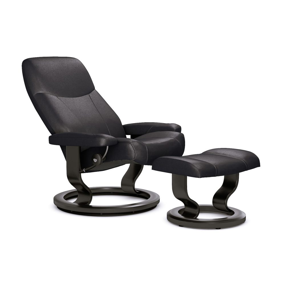 relaxsessel stressless consul batick black untergestell. Black Bedroom Furniture Sets. Home Design Ideas