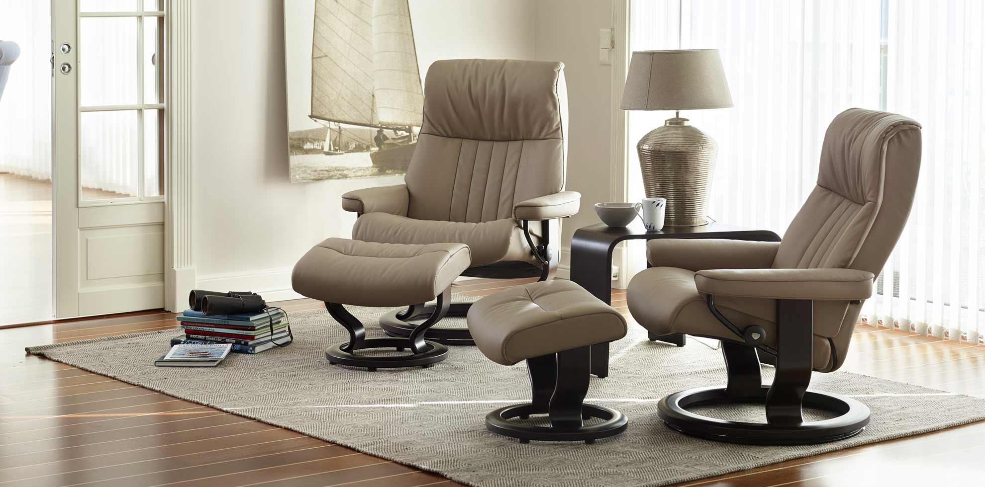 stressless crown g nstig online bestellen house of comfort. Black Bedroom Furniture Sets. Home Design Ideas