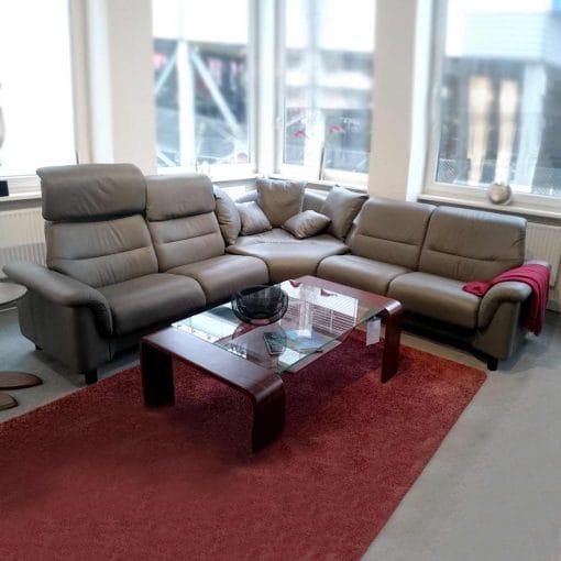 angebot stressless polsterecke como metal grey. Black Bedroom Furniture Sets. Home Design Ideas