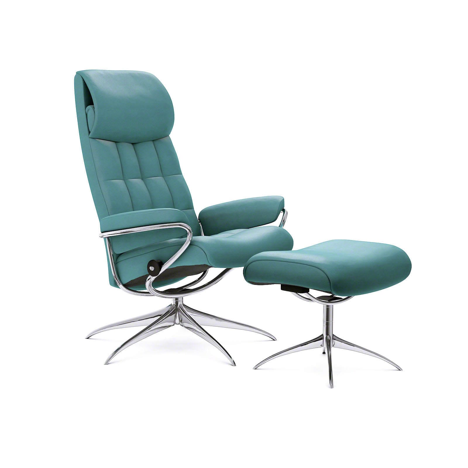 stressless london sessel mit hoher lehne paloma aqua green. Black Bedroom Furniture Sets. Home Design Ideas
