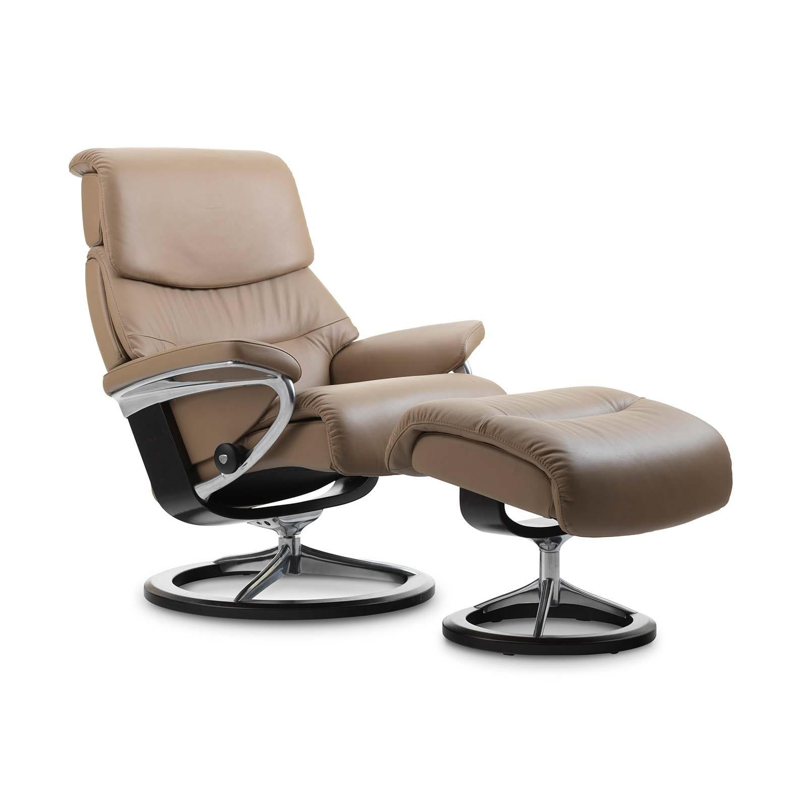 stressless capri s paloma funghi ohne hocker house of comfort. Black Bedroom Furniture Sets. Home Design Ideas