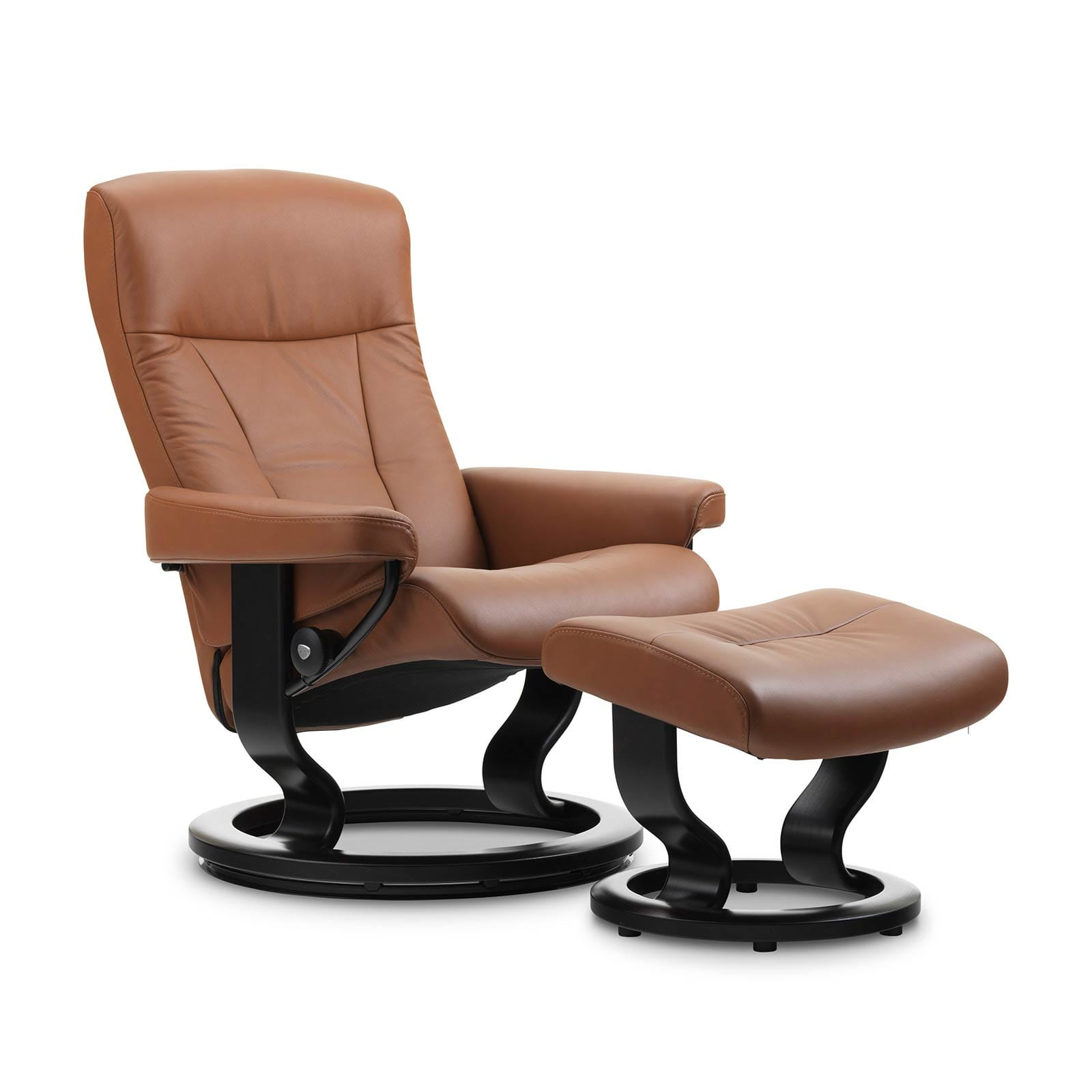 stressless sessel president copper leder paloma. Black Bedroom Furniture Sets. Home Design Ideas