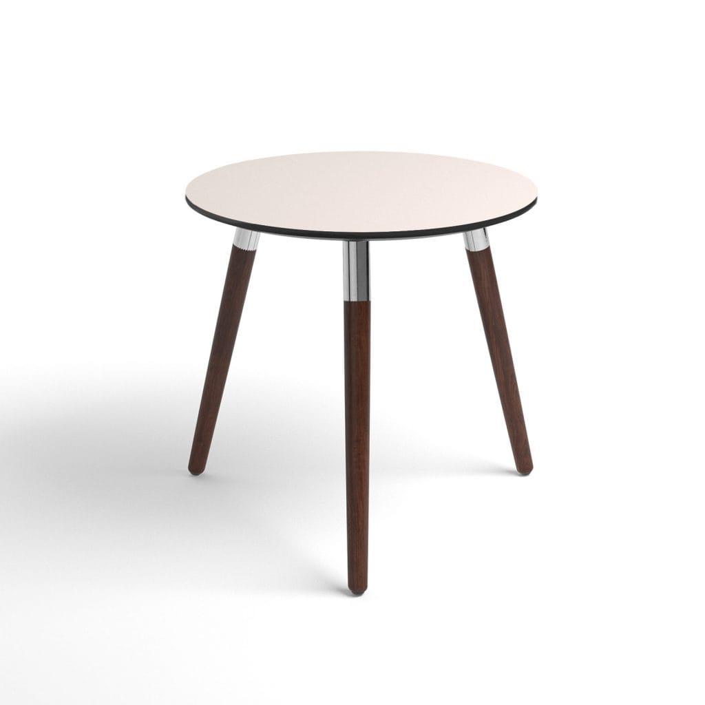 stressless beistelltisch style rund platte cream f e braun house of comfort. Black Bedroom Furniture Sets. Home Design Ideas