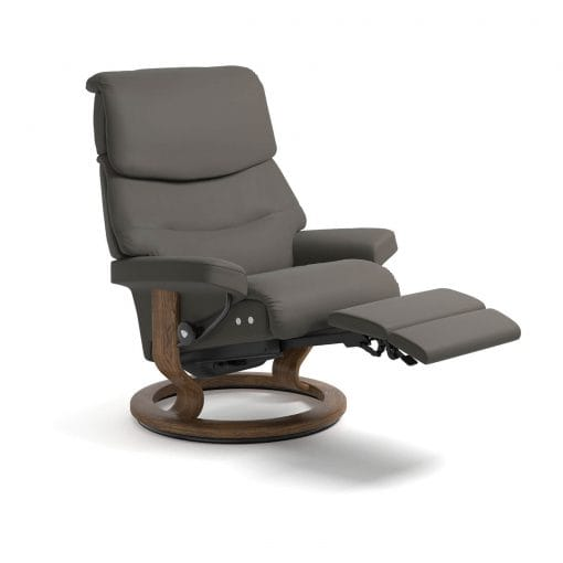 stressless capri paloma metal grey legcomfort stressless. Black Bedroom Furniture Sets. Home Design Ideas