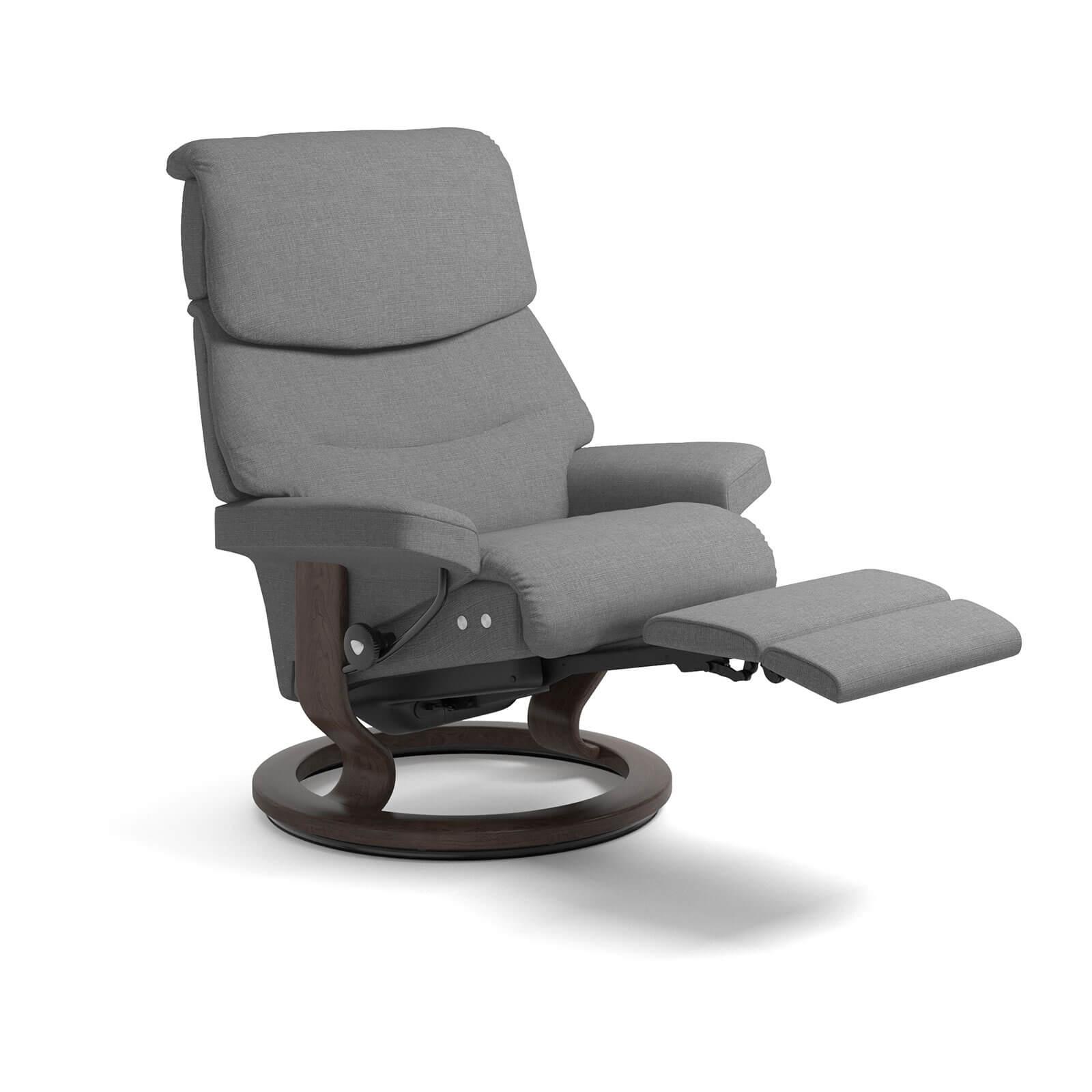 stressless capri legcomfort grau stressless online shop. Black Bedroom Furniture Sets. Home Design Ideas