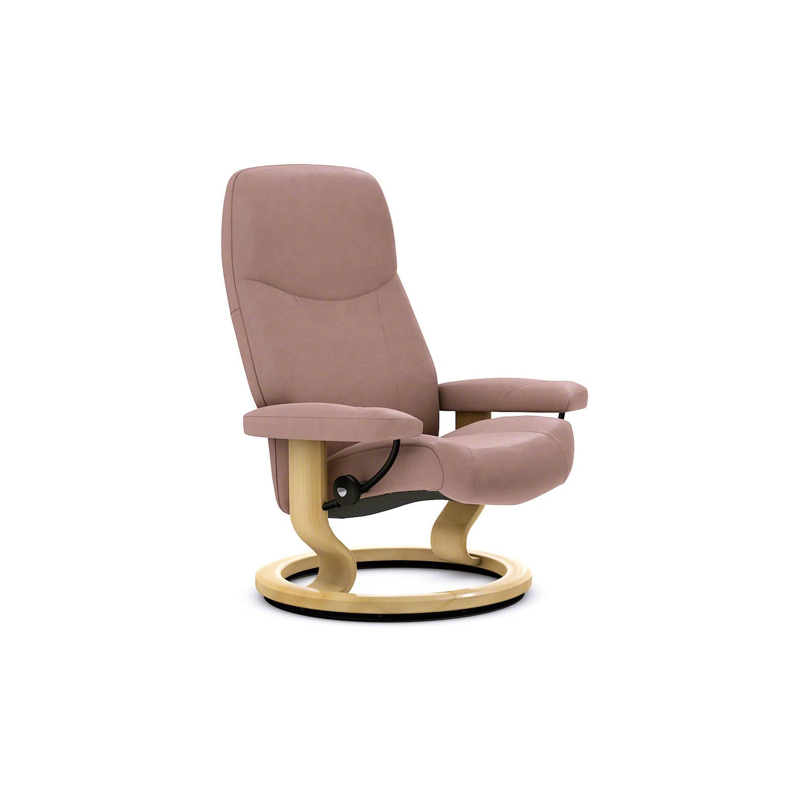 Stressless Consul Sessel Smoke Rose Ohne Hocker Stressless