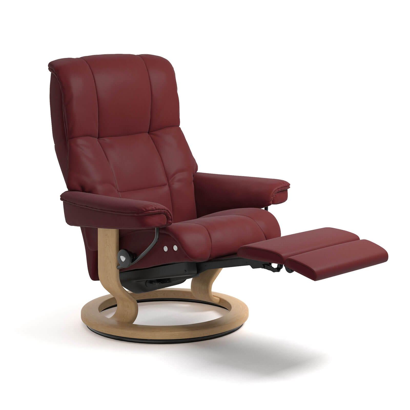 stressless mayfair legcomfort burgundy gestell natur. Black Bedroom Furniture Sets. Home Design Ideas