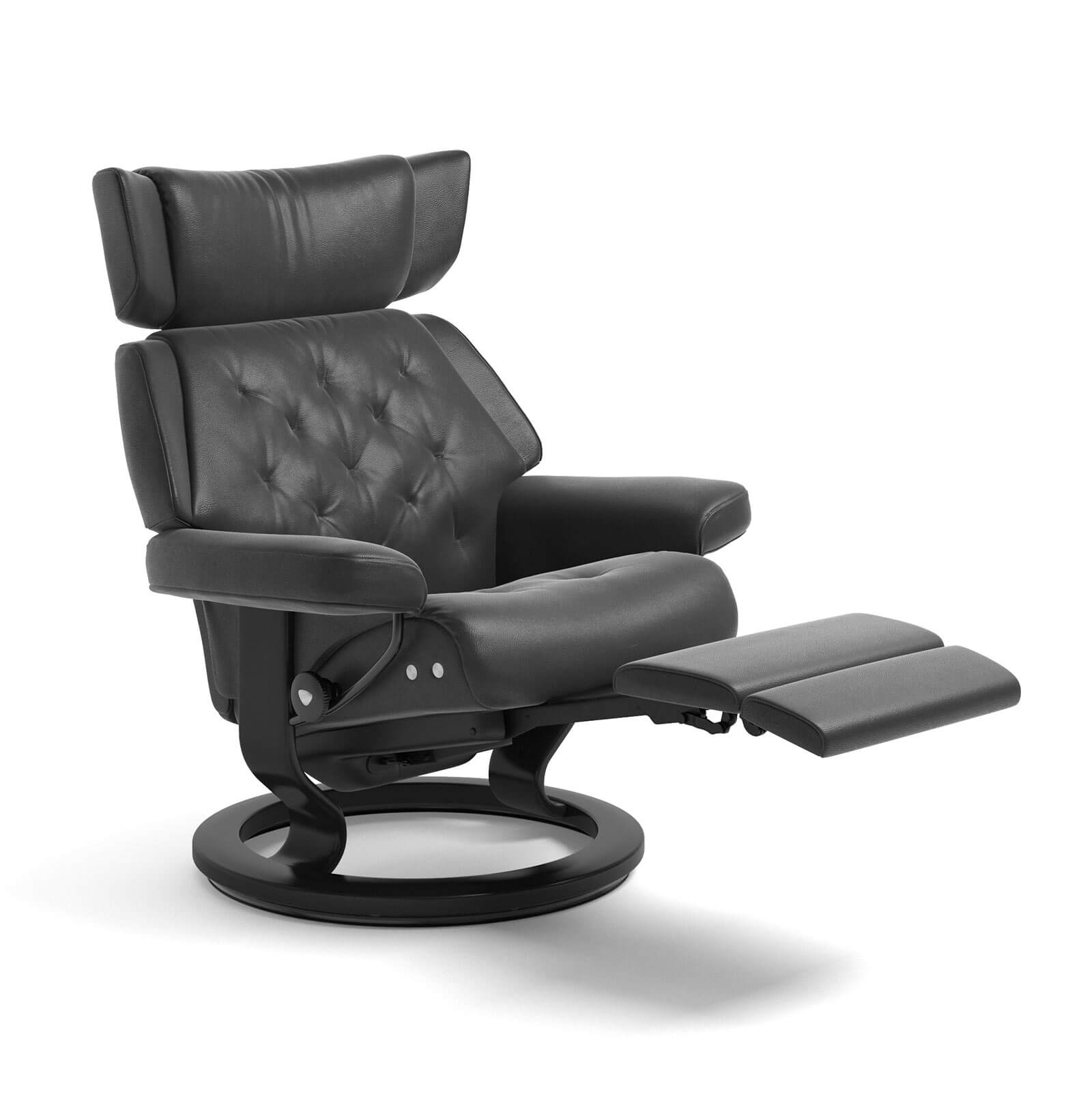 stressless sessel skyline legcomfort cori schwarz stressless. Black Bedroom Furniture Sets. Home Design Ideas