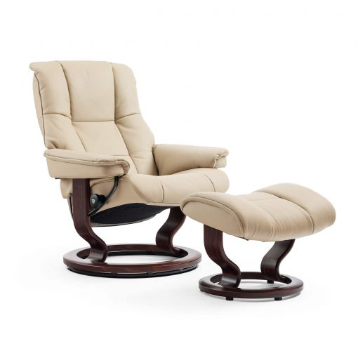stressless sessel mayfair m paloma sand classic braun hocker. Black Bedroom Furniture Sets. Home Design Ideas