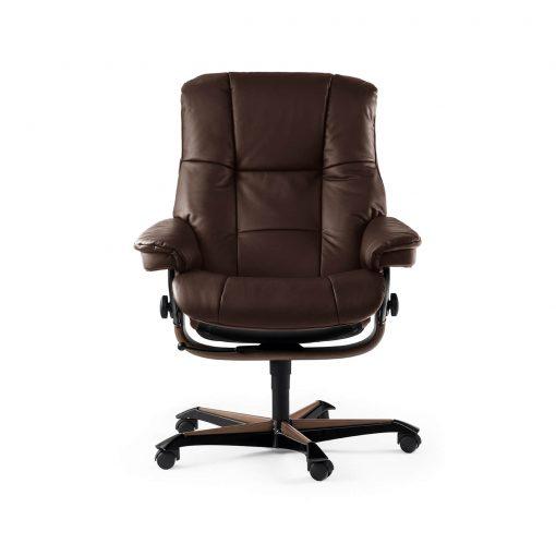 stressless sessel mayfair home office m lederfarbe braun. Black Bedroom Furniture Sets. Home Design Ideas