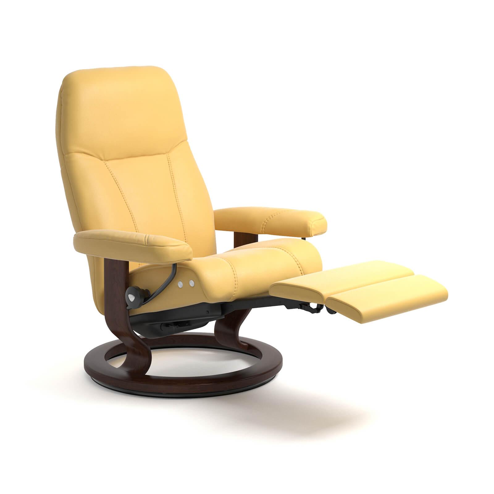 stressless reaxsessel consul legcomfort batick mimosa. Black Bedroom Furniture Sets. Home Design Ideas