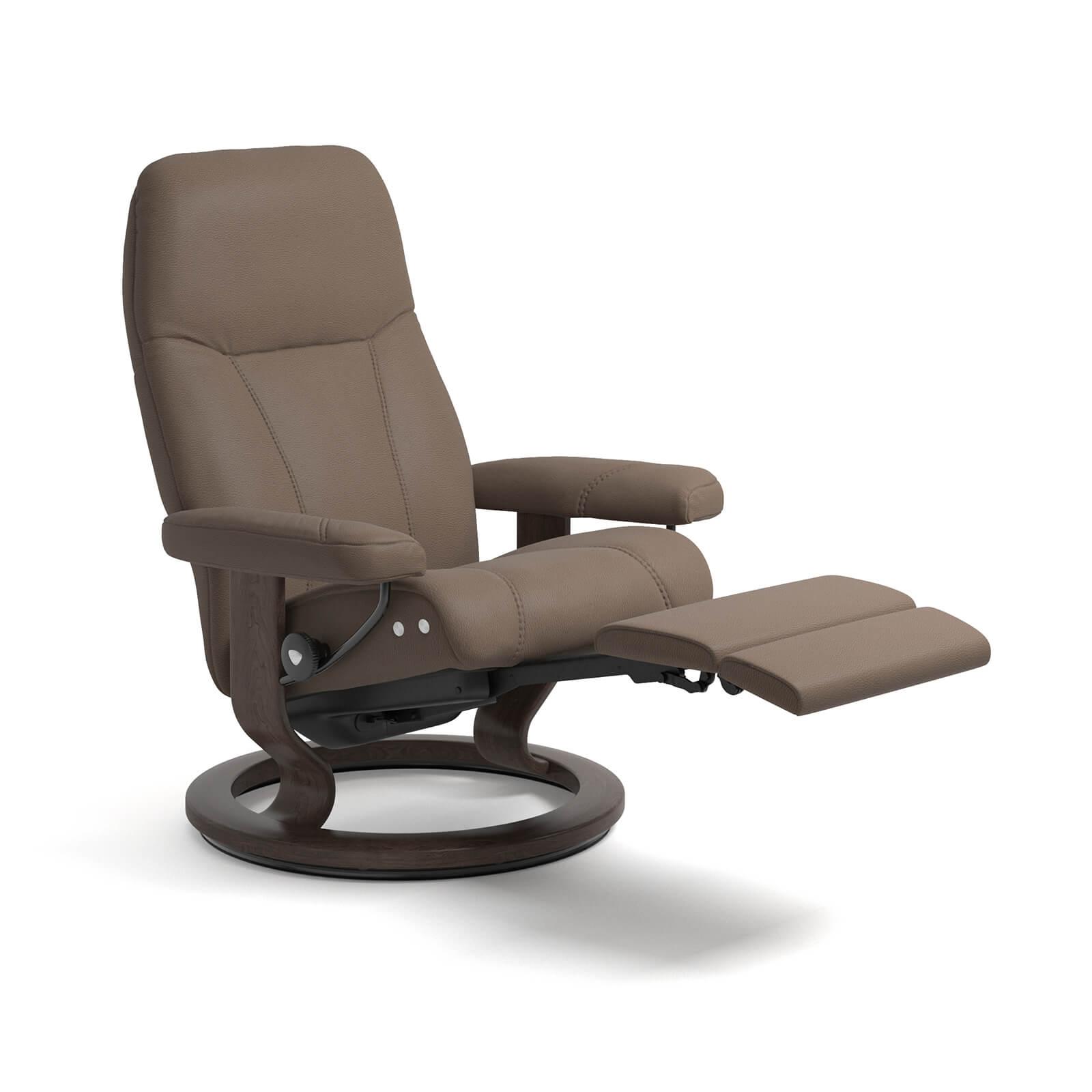 stressless reaxsessel consul legcomfort batick mole wenge. Black Bedroom Furniture Sets. Home Design Ideas