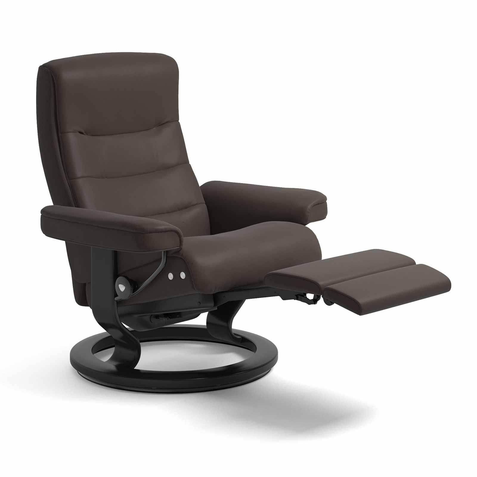 stressless sessel nordic legcomfort batick braun mit hocker. Black Bedroom Furniture Sets. Home Design Ideas