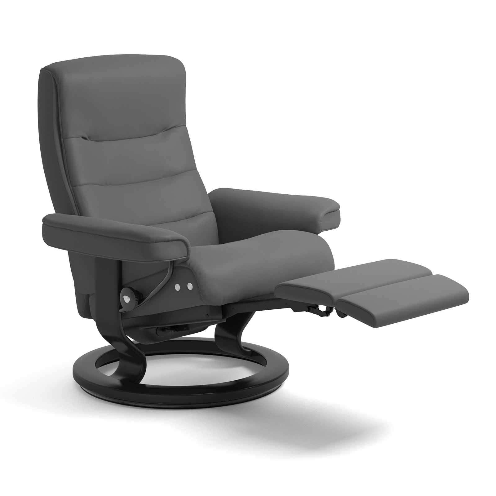 stressless sessel nordic legcomfort batick grau mit hocker. Black Bedroom Furniture Sets. Home Design Ideas