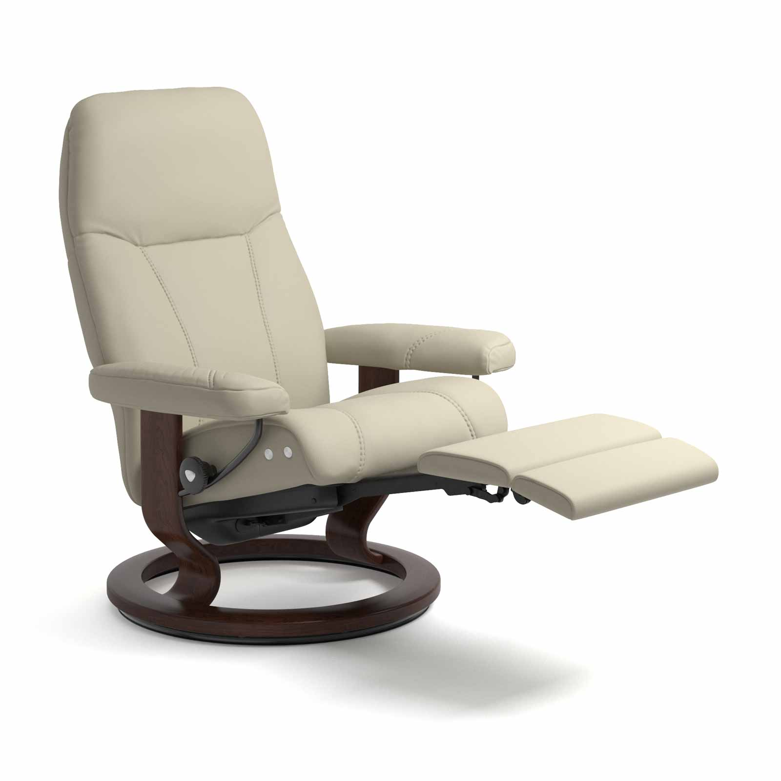 Sessel Consul Legcomfort Paloma Light Grey Stressless