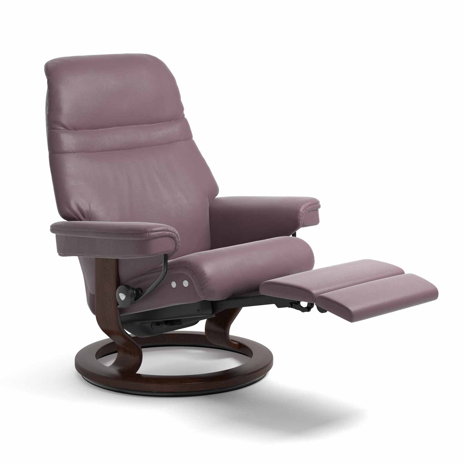 sessel sunrise legcomfort paloma purple plum stressless. Black Bedroom Furniture Sets. Home Design Ideas