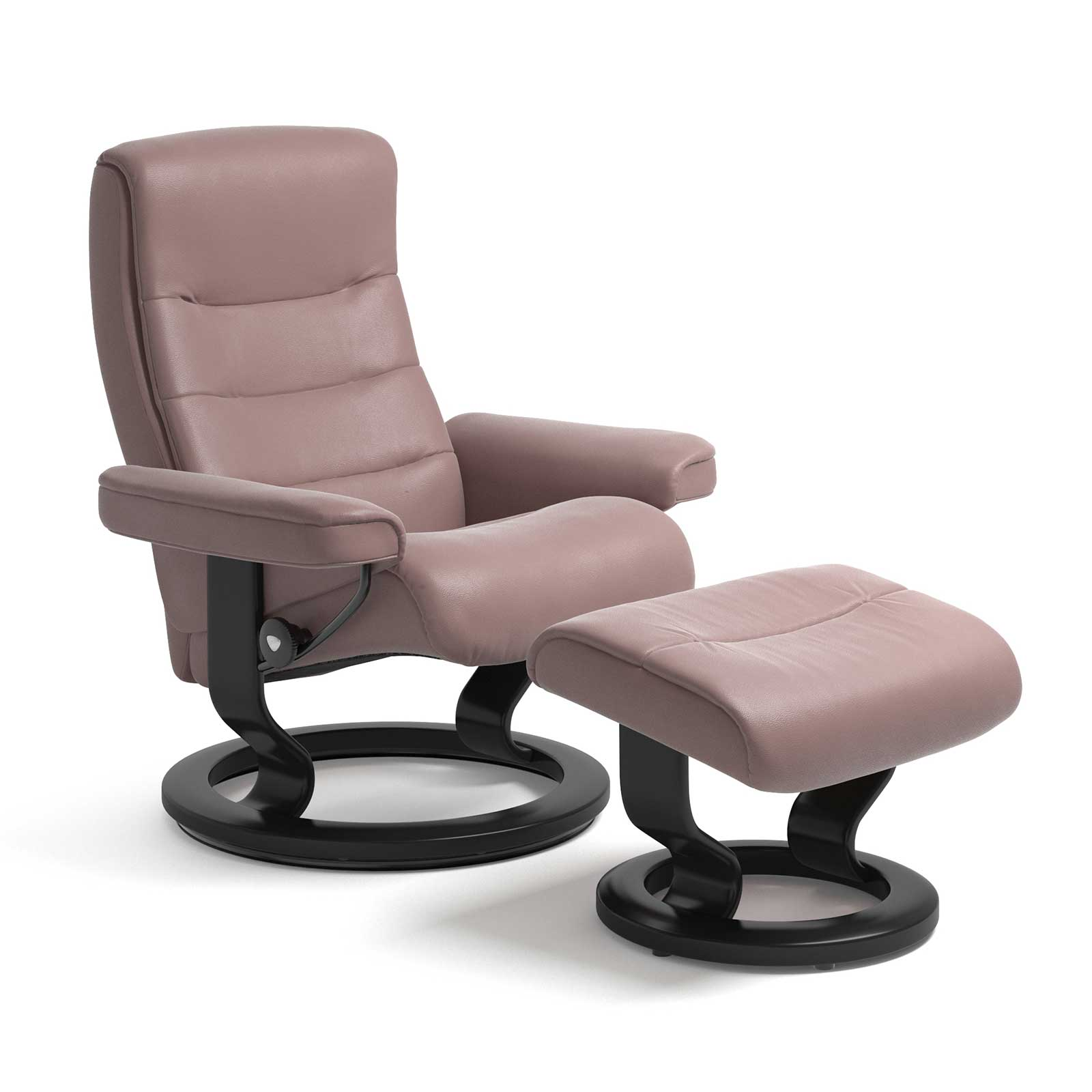 Stressless Sessel Nordic Paloma Dusty Rose Mit Hocker Stressless
